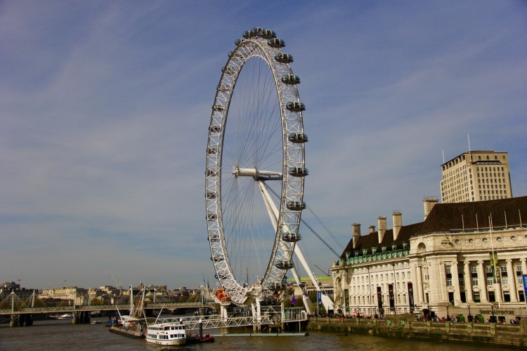 London Eye Post