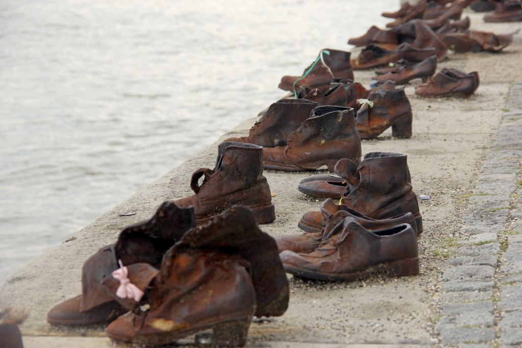 shoes on the danube budapest post